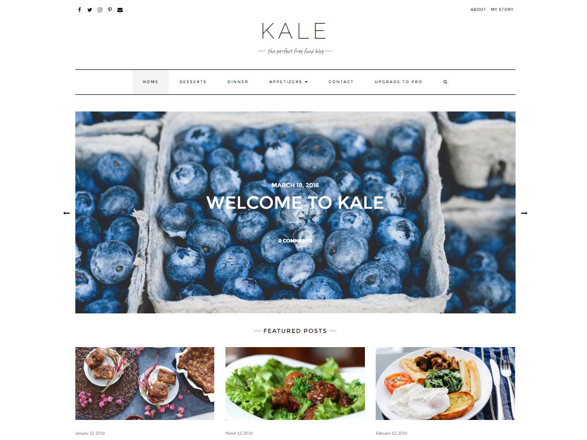 Kale Theme Free theme Wp ZipHost